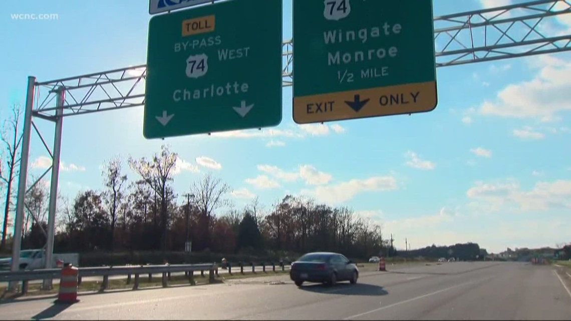 monroe expressway open in time for christmas travel. Black Bedroom Furniture Sets. Home Design Ideas