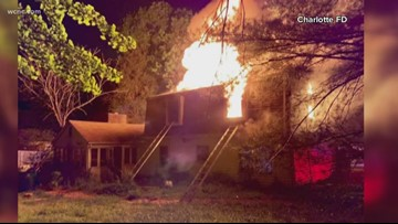 No one charged yet in east Charlotte arson case
