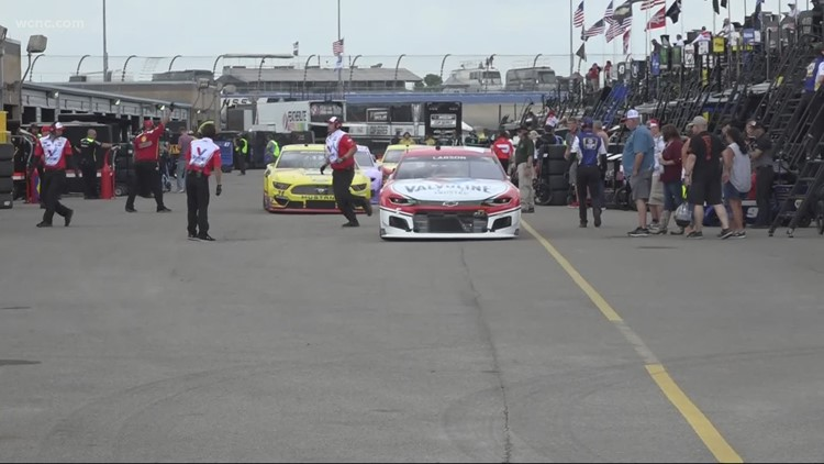 Hendrick trio sets pace at re-opened Nashville Superspeedway