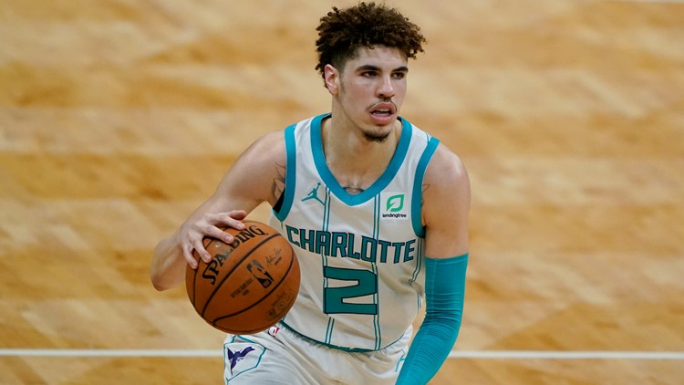 Hornets' LaMelo Ball wins NBA Rookie of the Year, ESPN reports