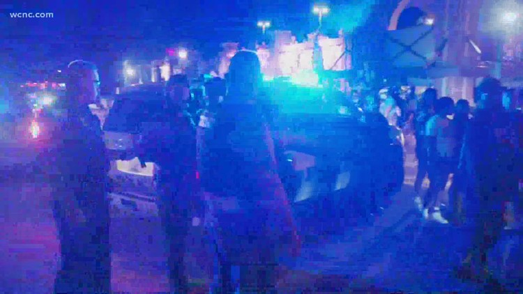 Second night of protests in Rock Hill, South Carolina