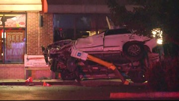 1 dead after car slams into Gastonia building