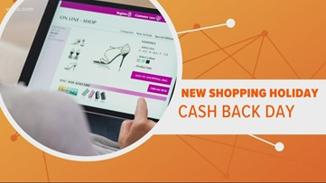 Cash Back Day will give you money to go shopping