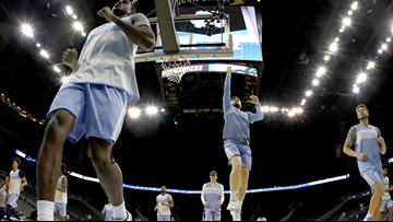 Behind the scenes: North Carolina gearing up for Sweet 16 meeting vs Auburn