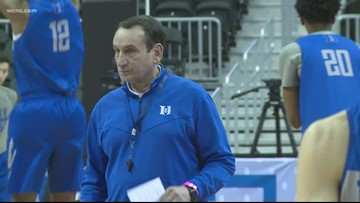 Duke prepares to take on Virginia Tech in the Sweet 16
