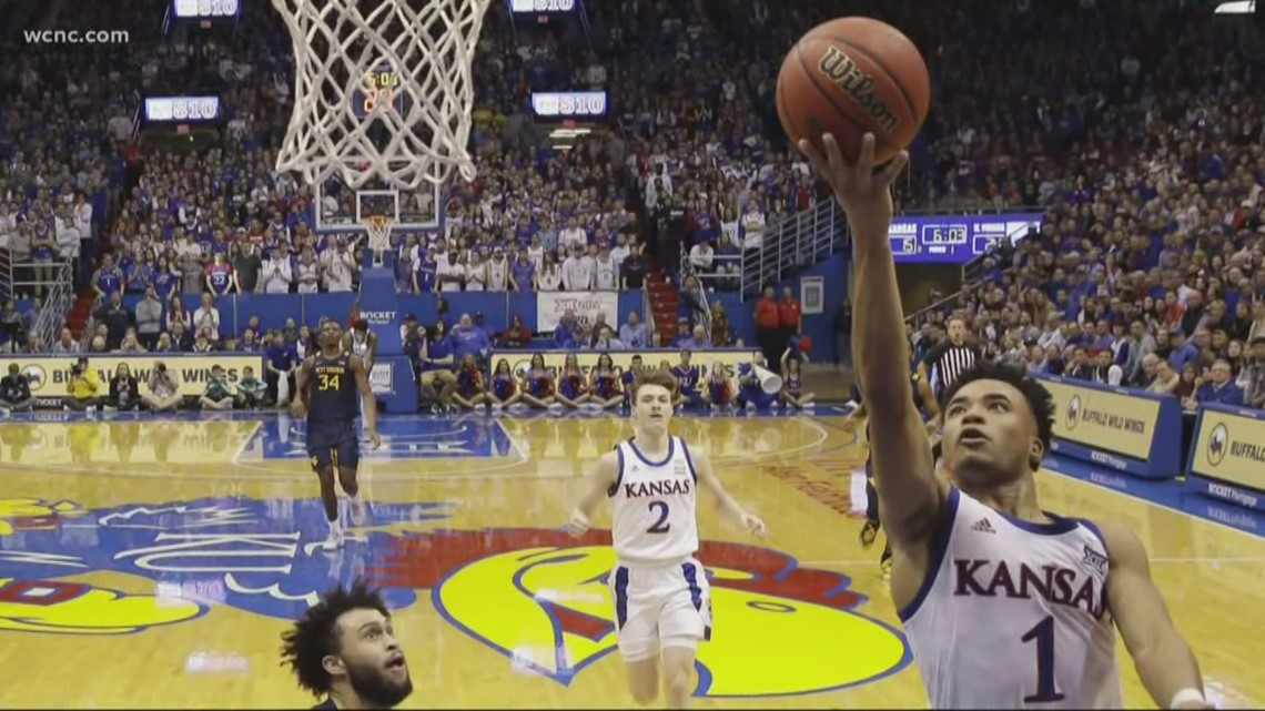 Kansas basketball player back home in Charlotte missing March Madness due to coronavirus outbreak