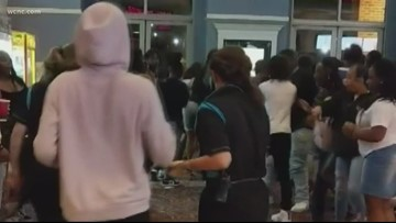 Movie theater fight caught on camera in Rock Hill