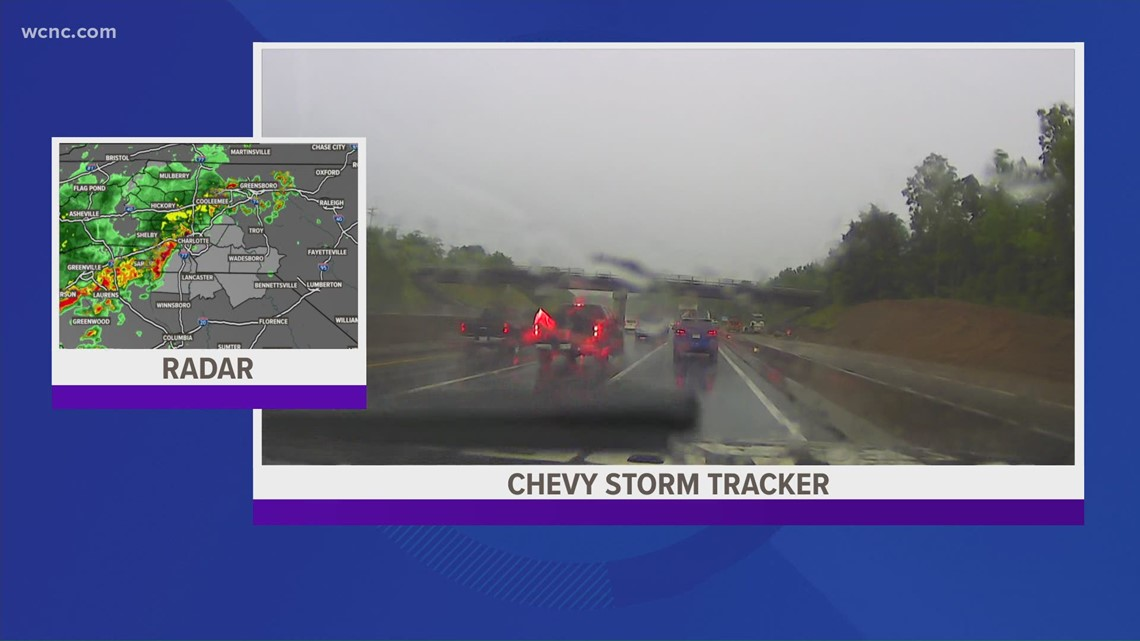 A look at the roads from the Chevy Storm Tracker