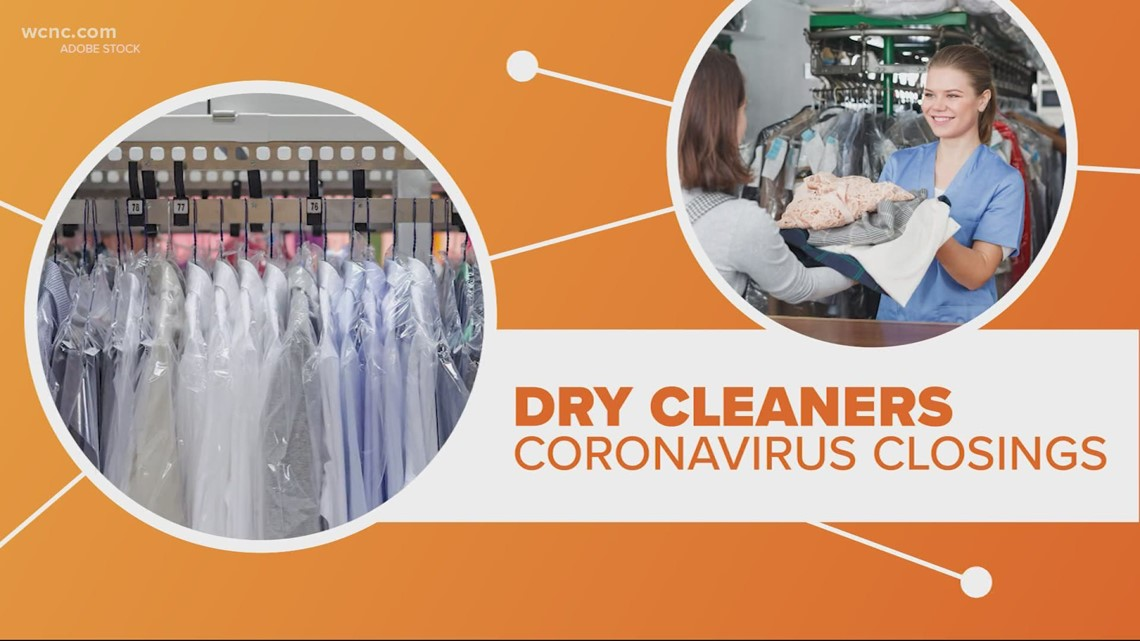 Dry cleaners closing down during COVID-19 pandemic