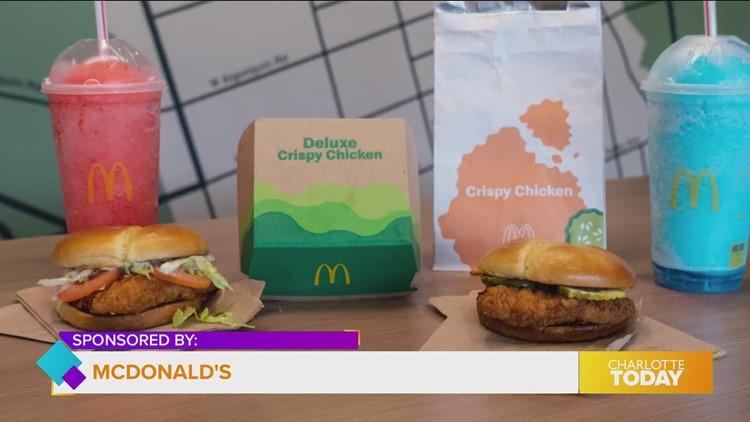 So many ways to enjoy crispy chicken from McDonald's
