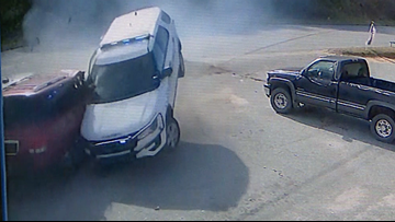 "Caldwell deputy ""dismissed"" after crashing patrol car"