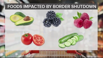 Trump's threat to close Mexico border could raise produce prices