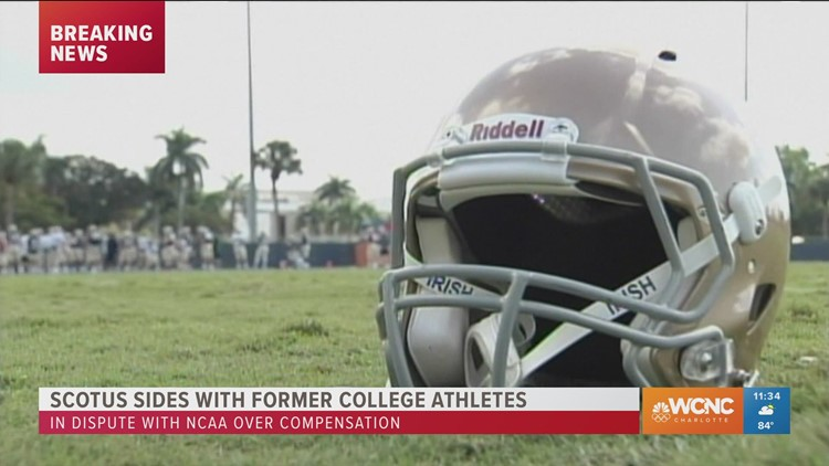 Supreme Court rules against NCAA on paying athletes