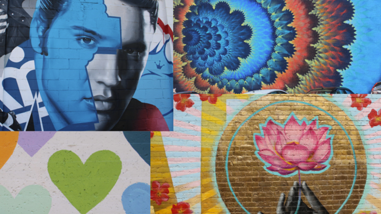 Art in the Queen City: A guide to street art in some of Charlotte's popular neighborhoods