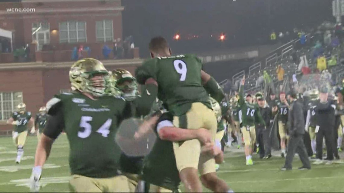 Charlotte 49ers Bowl Eligible For The First Time Wcnc Com