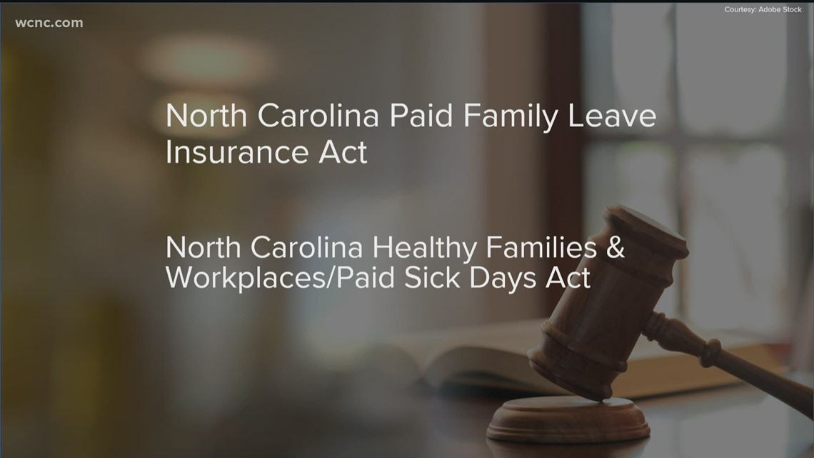 NC lawmakers pushing pair of paid leave bills