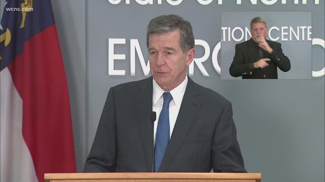 Gov. Cooper acknowledges back-and-forth between state health officials and Union County Public Schools