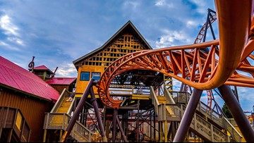 Enter for a chance to ride Copperhead Strike at Carowinds