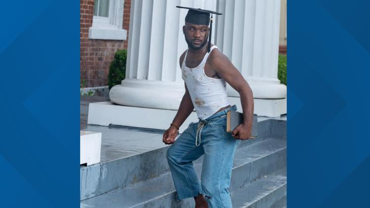 South Carolina college graduate goes viral after paying tribute to ancestors in graduation photos
