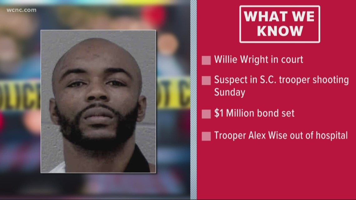 Suspect accused of shooting SC trooper in court Tuesday