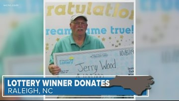 Lottery winner to help Hurricane Dorian victims