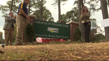 New memorial, mural to recognize 'Miracle of Hickory'