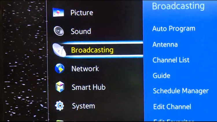 We've improved our over-the-air signal! Here's how to rescan