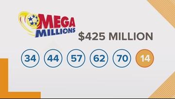 Winning $425 million Mega Millions sold in New York