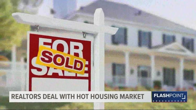 Realtors jumping through hoops in hot housing market