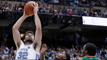 UNC prepares for Sweet Sixteen appearance, Auburn game