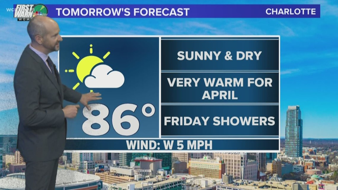 FORECAST: Warmer Days in the 80's Continue