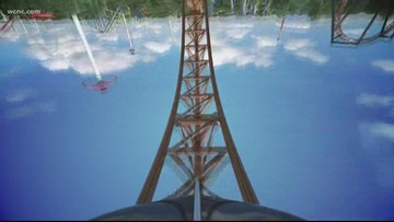 Carowinds announces preview night or new roller coaster, Copperhead Strike