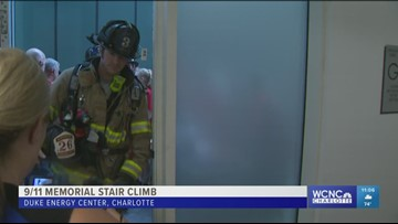More than 1,000 people take part in annual 9/11 memorial stair climb