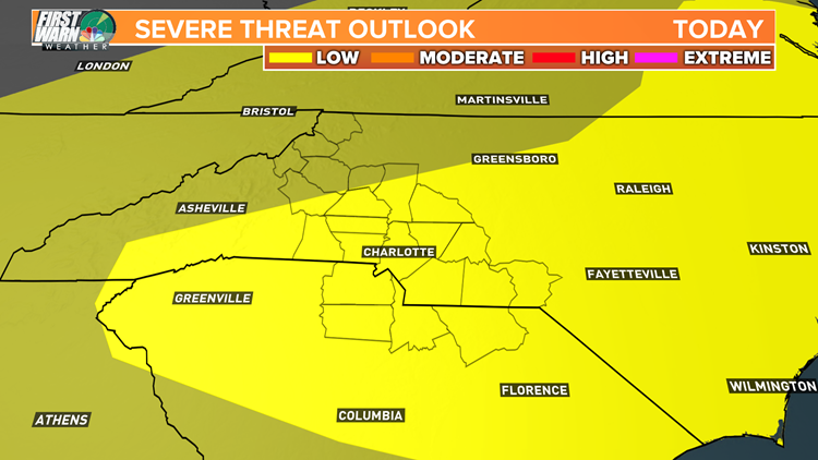 First Warn: A low severe weather threat Friday