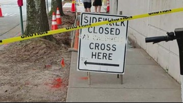 Sidewalk repairs underway after Defenders investigation uncovers hundreds of complaints