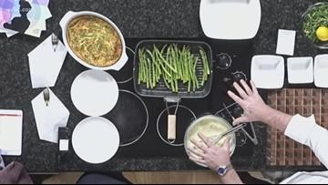 Recipe: Cheesy asparagus bake