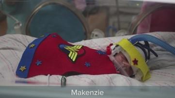 'Everyone's heart melts' | NICU babies dress in costume at Levine Children's Hospital