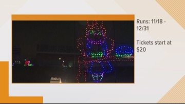 Get in the holiday spirit with Speedway Christmas at Charlotte Motor Speedway