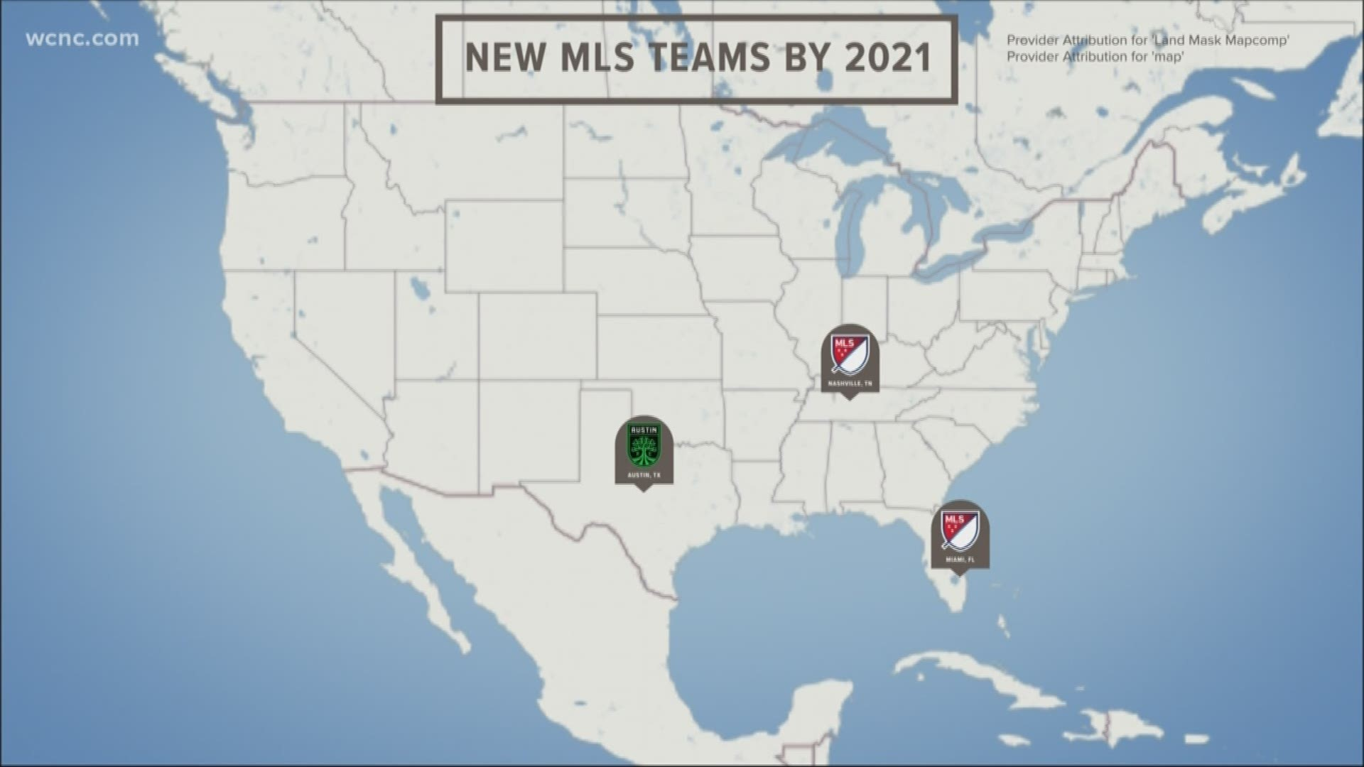 mls announces more expansion is charlotte next wcnc com mls announces plans to expand to 30 teams