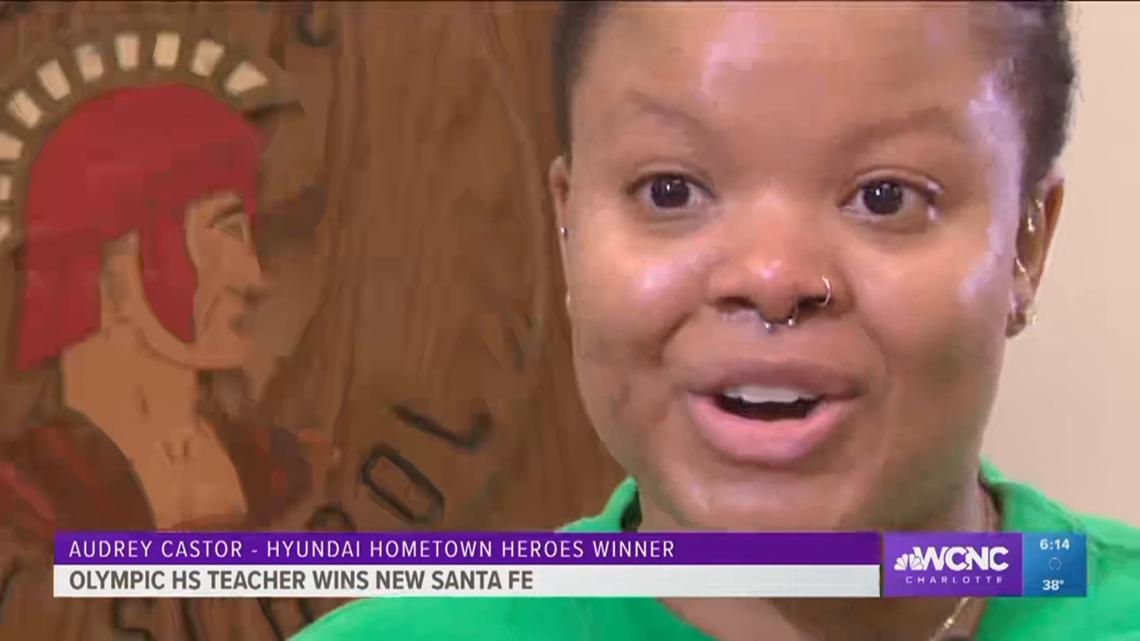 Charlotte teacher named Hyundai Hometown Hero