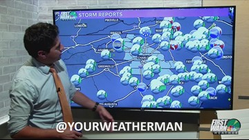 Friday PM Weather Update