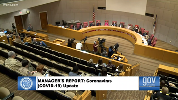 Mecklenburg County quietly went into crisis mode without the public knowing