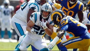 McCaffrey named NFC Offensive Player of the Month