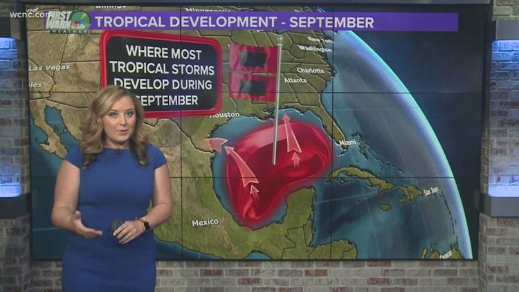 Hurricane season peaks