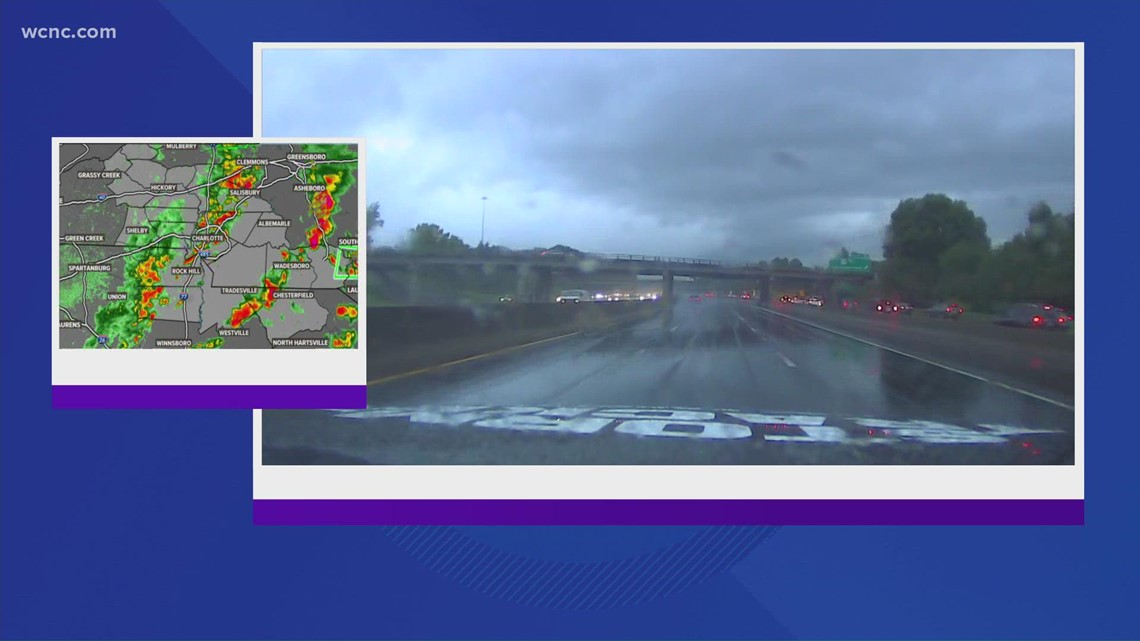 Chevy Storm Tracker: Monitoring road conditions during heavy rain