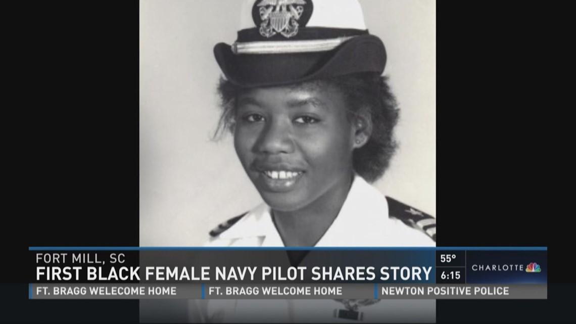 First Black Female Navy Pilot Shares Story Wcnc Com