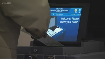 'It feels more secure' | Mecklenburg County voters use new voting machines on Super Tuesday