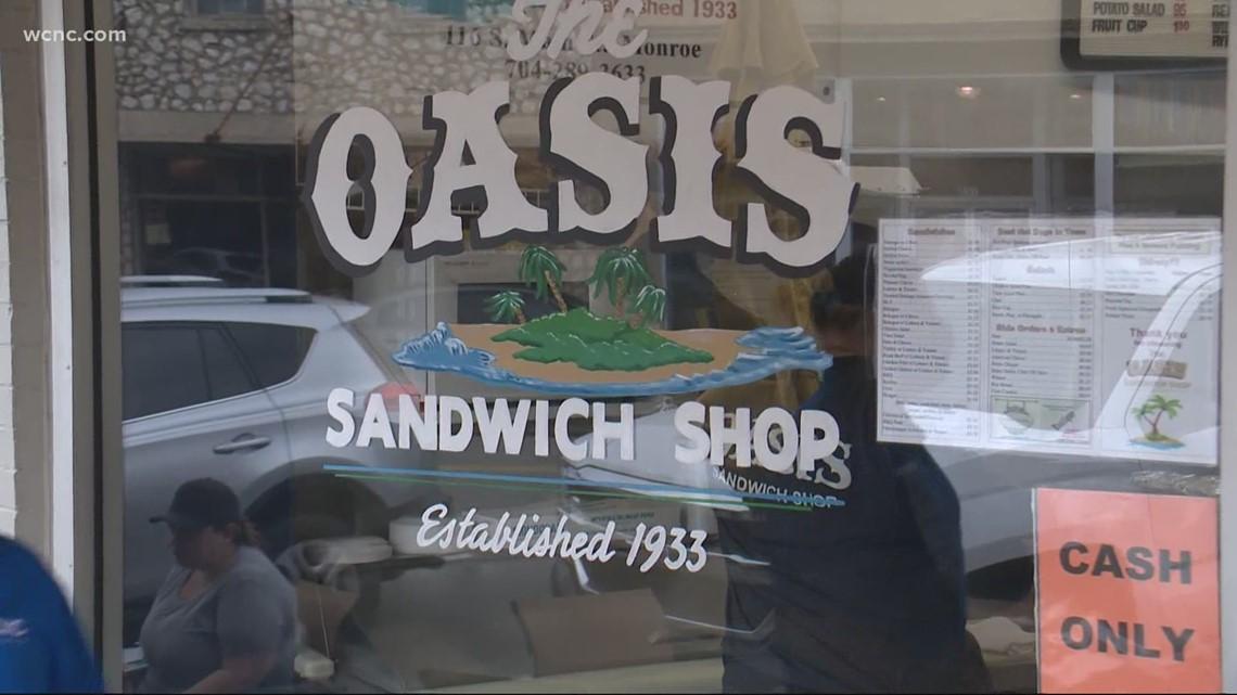 Monroe's beloved Oasis Sandwich Shop | Up in 60
