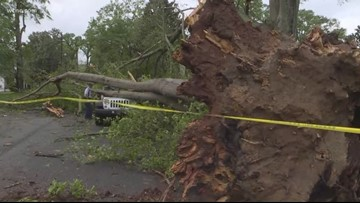 NWS: Weak tornado touched down over Gaston, Lincoln counties Friday