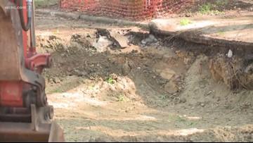 Gas leak in Dilworth neighborhood